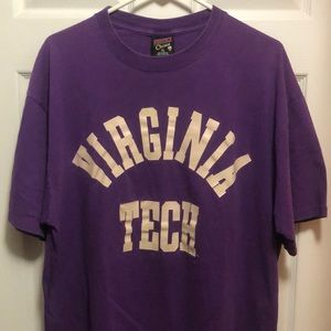 Vintage purple Virginia tech university Hokies